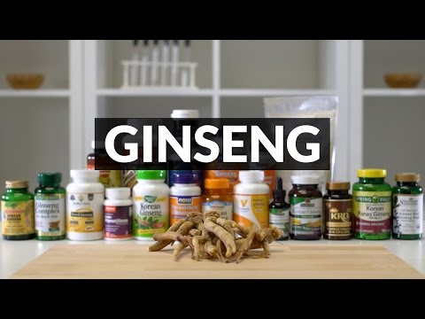 2016 GINSENG Supplements TESTED | LABDOOR