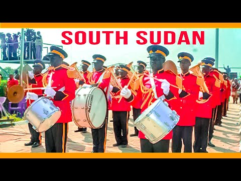 South Sudan Army (SPLA) Band Playing Its Famous Revolutionary Salam Muzika
