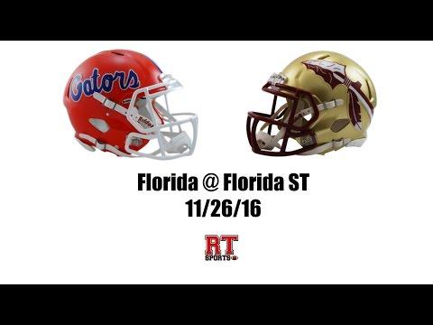 Florida Gators at Florida State Seminoles in 30 Minutes - 11/26/16