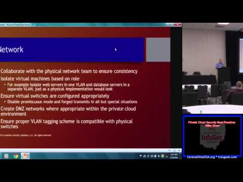 Tech103 Private Cloud Security Best Practices Mike Greer