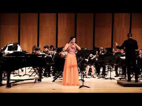 Vivaldi - Piccolo Concerto in C Major - Nikki's Senior Solo
