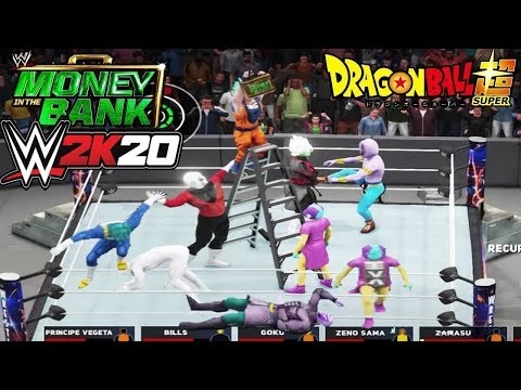 Dragon Ball SUPER -  WWE Money in the Bank 2018