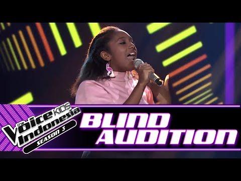 Nikita - Love On Top | Blind Auditions | The Voice Kids Indonesia Season 3 GTV 2018