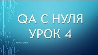 Урок 4: Введение в Тестирование ПО - QA с Нуля - Тест Планы, Тест Документация, Тест Кейсы