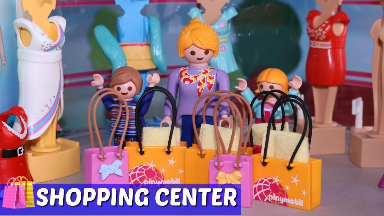 playmobil film deutsch  shopping marathon im shopping