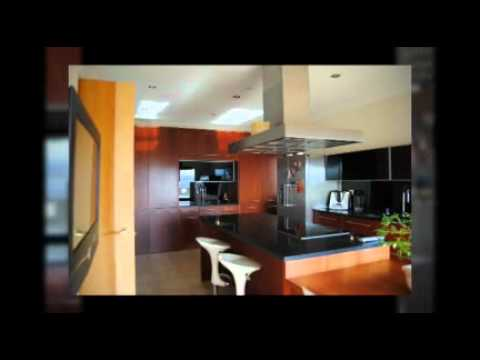 Reformas cocinas modernas con isla chalet cobe a madrid - Cocinas con islas modernas ...