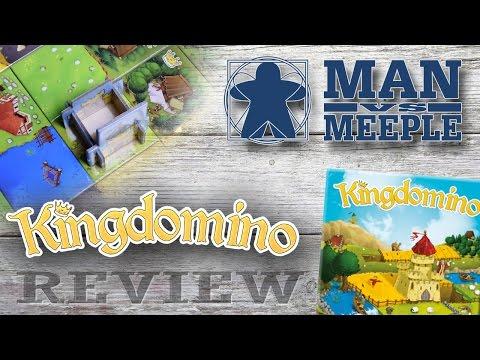 Kingdomino (Blue Orange Games) Review by Man Vs Meeple