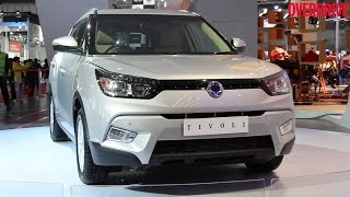 2016 Auto Expo_ SsangYong Tivoli showcased