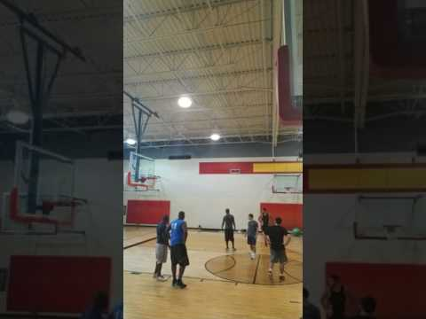 Day 66 out of 90. Pick up games at my gym. Ball is life🔥🔥💯💯💯