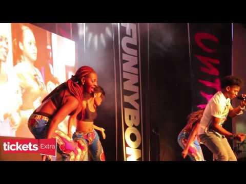 Korede Bello's Performance at Funny Bone Untamed Concert