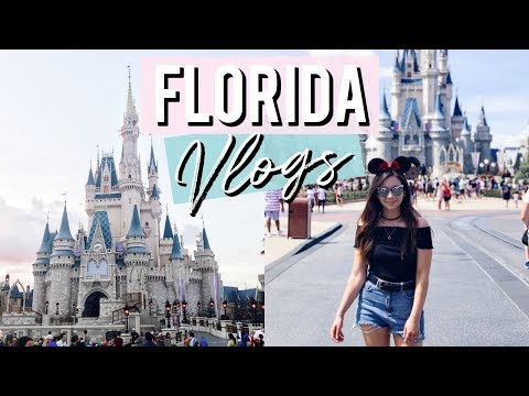 FIRST DAY AT MAGIC KINGDOM I FLORIDA VLOGS I dizzybrunette3