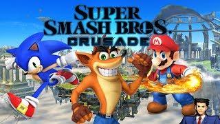 La afeminadas peleas de Crash Bandicoot con Loquendo Cap 2 (SSB Crusade)