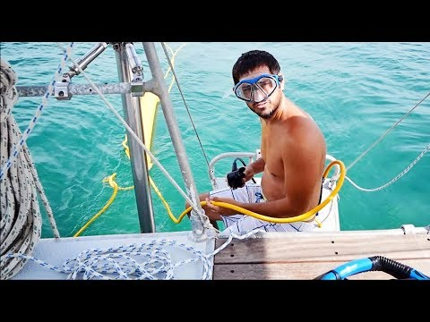 Testing Our Sea Breathe Hookah and Snorkeling Peanut Island (MJ Sailinig - EP 31)