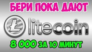 Время собирать Litecoin - жирные краны