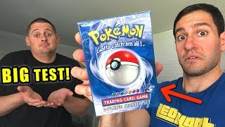 *IS THIS VINTAGE POKEMON CARDS BOX SHADOWLESS?* Opening BASE SET Deck and RARE Booster Packs!