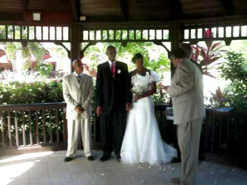 Jermel and Nikki Wed in Antigua