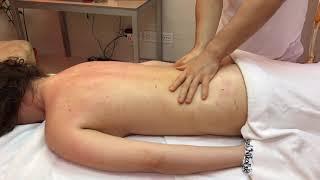 Смотреть видео оздоровительный массаж спины для жены в домашних условиях