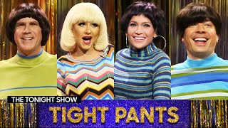 Tight Pants with Will Ferrell, JenniferLopez andChristina Aguilera | The Tonight Show