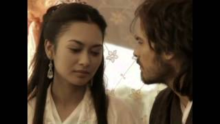 Desiree Siahaan and Ian Somerhalder in Marco Polo
