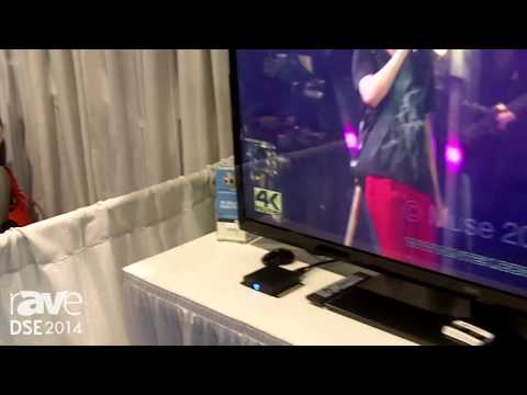 DSE 2014: NanoTech Entertainment Brings the Nuvola Tiny 4k Android Media Streamer