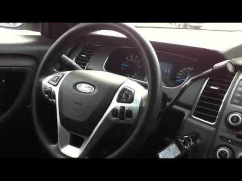 2013 Ford Taurus Ex-Police Startup Engine & In Depth Tour