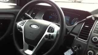 2013 Ford Taurus Ex-Police Startup Engine & In Depth Tour Mp3