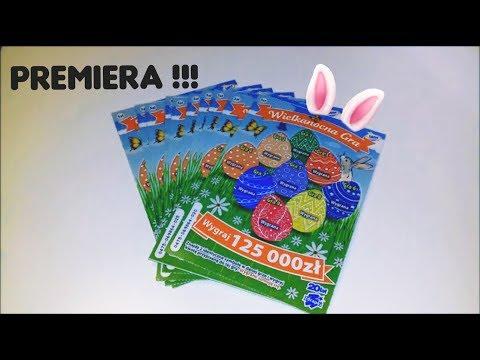 Zdrapki Lotto #132 Premiera !!! Wielkanocna Gra 🐣🐤🥚 10 zdrapek premierowych 💪