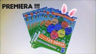 Zdrapki Lotto #132 Premiera !!! Wielkanocna Gra 10 zdrapek premierowych