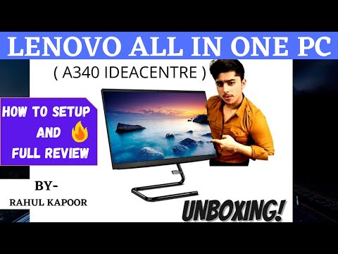 Lenovo A340 Ideacentre Fully Unboxing| How to Setup Lenovo All In One PC❓| Must Watch!