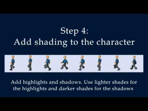 pixel art 2d sprite tutorial