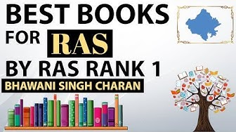 Best books for RAS by Rank 1 Bhawani Singh Charan - Rajasthan Administrative Services RPSC