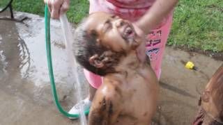 Playing in Mud Mud babies