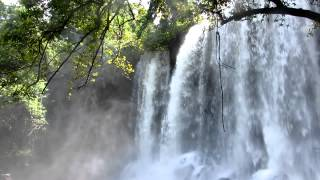 Cambodia - waterfall in jungle