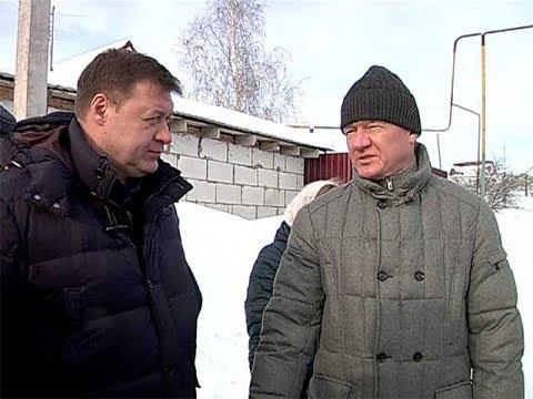 Роман Старовойт внепланово проверил, как убирают снег в Щиграх
