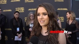 Madison Pettis Interview   Movieguide Awards 2015   Red Carpet