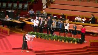 Easter Camp Meeting 2011: Candid moments from Saturday Morning (Donna Carline, Jimmy Swaggart)