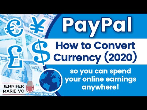 How To Convert Currency In PayPal 2020 To Spend Your Online Earnings! | PayPal Currency Conversion