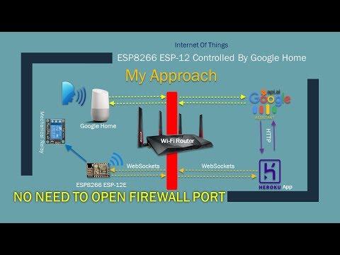 ESP8266 Tutorial   DIY Home Automation with Google Home    #5