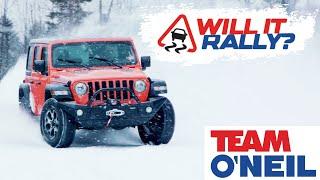 Jeep Wrangler Rubicon: Will it Rally?