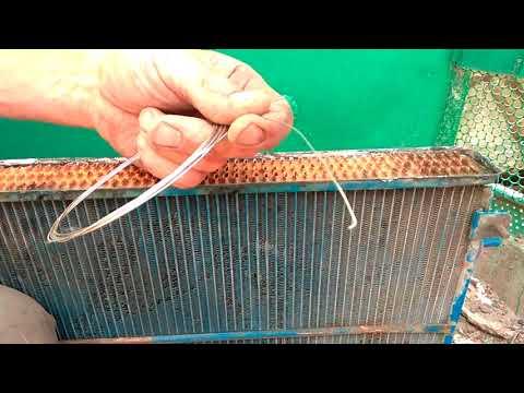 Как запаять радиатор на волге