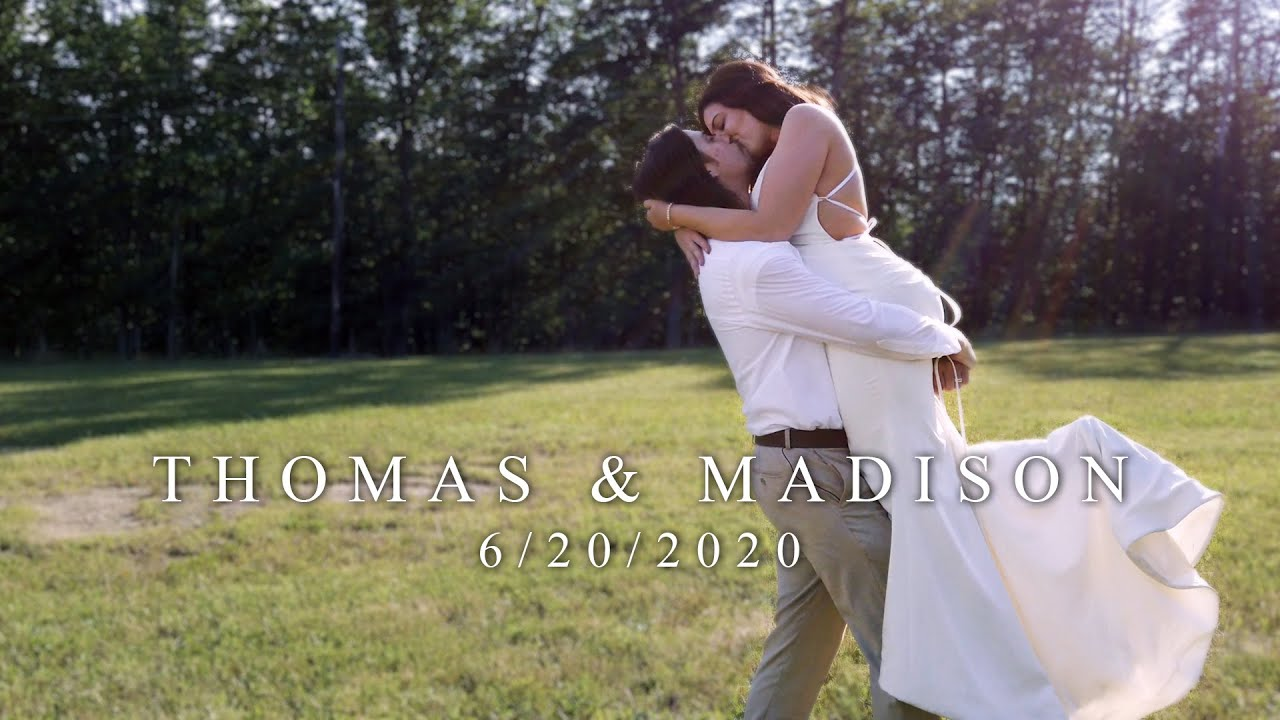 Beautiful Love Story Destination Wedding Film // Thomas & Madison // Cloudland Canyon State Park