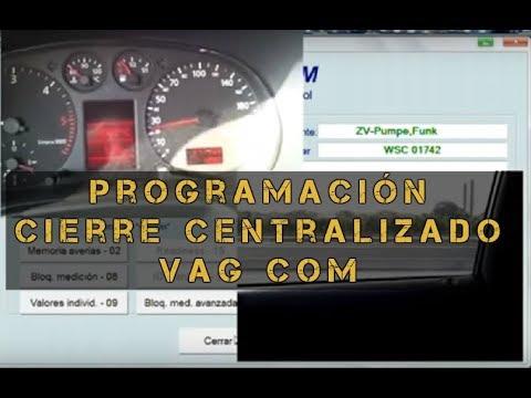 Programacion cierre centralizado Vag Com  YouTube