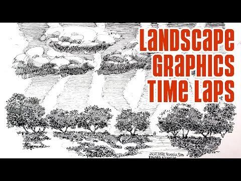 landscape-sketching