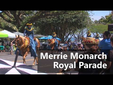 Merrie Monarch Festival Royal Parade Highlights (Apr. 22, 2017)