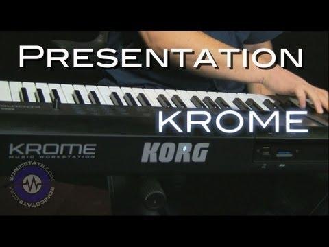 Korg Krome Workstation - Product Presentation