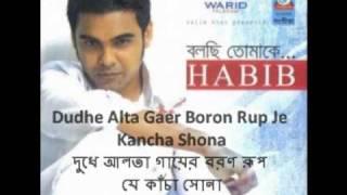 Bhalo Bashbo with lyrics  ভালোবাসবো