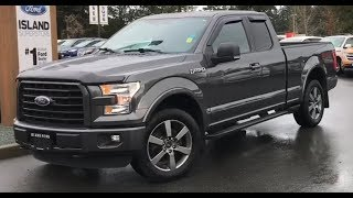 2015 Ford F-150 XLT W/ Backup Camera, keyless Entry, Box Side Step Review| Island Ford