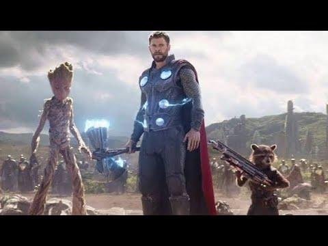 Avengers Infinity War Thor's New Hammer