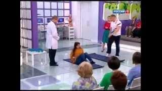 Как похудеть? Упражнения для сжигания жира Василий Волков