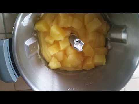 gâteau-moelleux-à-l'ananas-au-compact-cook-elite-pas-à-pas